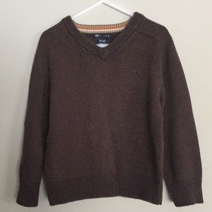 H&M Toddler Boy Dressy Brown sweatshirt Size 3T/4T